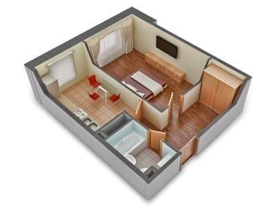 замена электрики в однокомнатной квартире цена